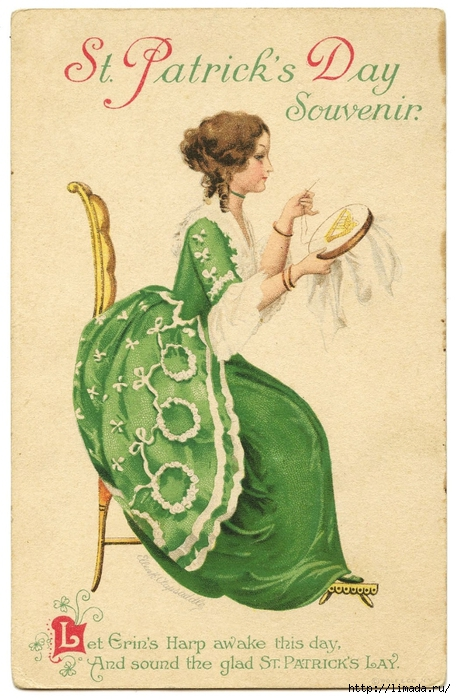 Vintage-Image-St-Patricks-Day-Lady-GraphicsFairy (456x700, 271Kb)