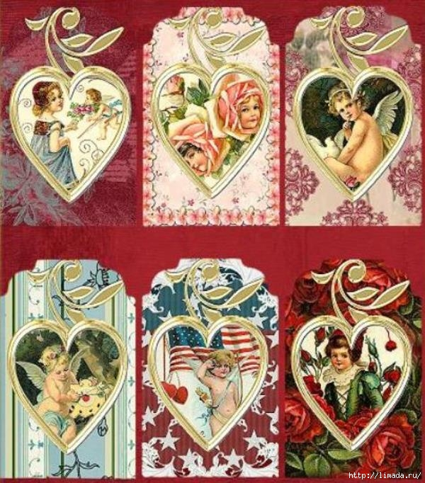Vintage_Valentine_Cherub_Tags_Sample (600x682, 295Kb)