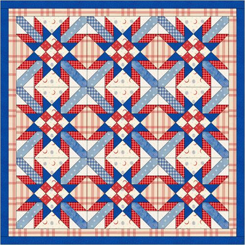 Орнамент для лоскутного шитья