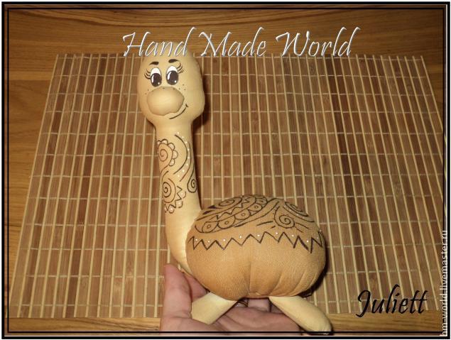 """手工玩偶制作教程:"""" 咖啡乌龟 """"(大师班) - maomao - 我随心动"""