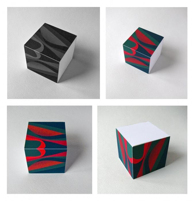 Кубы из бумаги