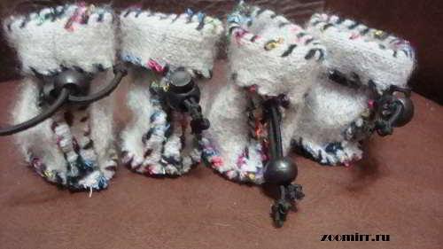 Как сшить собаке ботиночки своими руками