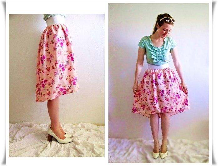 Летняя юбка сшить легко