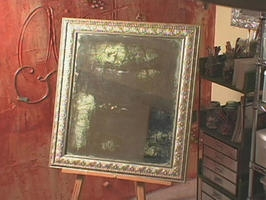 Антиквариат своими руками. Как состарить зеркало (1) (266x200, 39Kb)