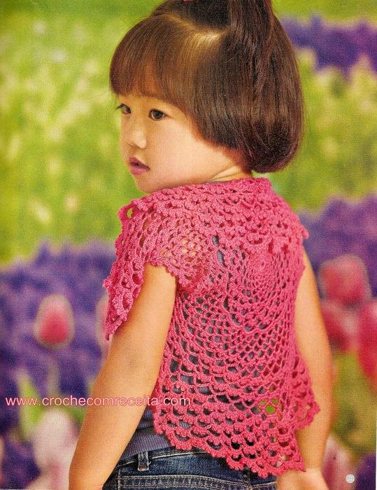 Вязание для детейболеро 32
