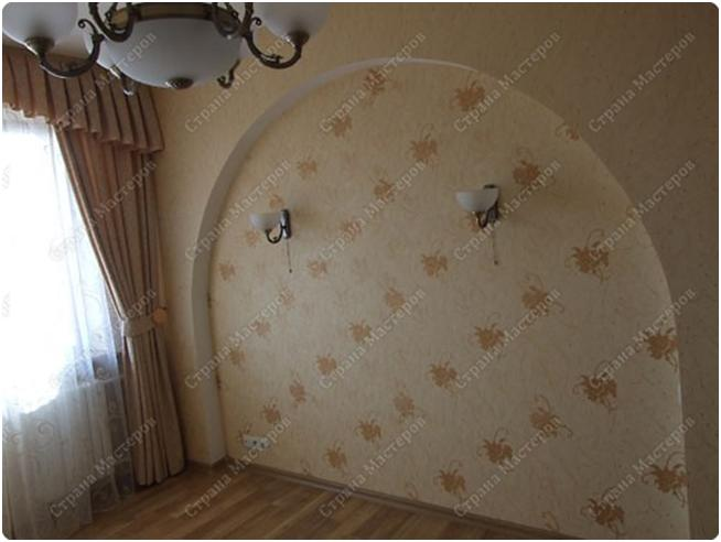 Арки на стене из гипсокартона своими руками