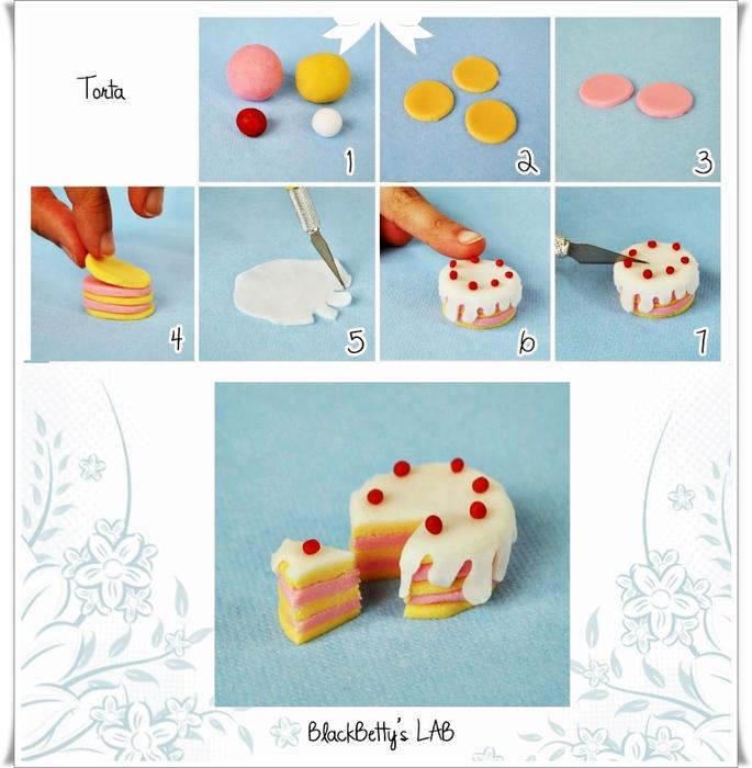 Фигурки из мастики для торта своими руками