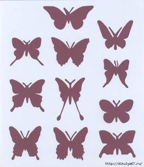 Бумажные бабочки своими руками
