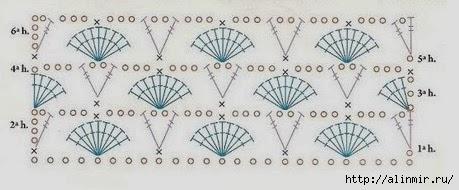 вязание шаль- (459x190, 70Kb)