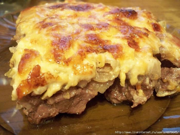 Отбивная из свинины с картошкой в духовке рецепт пошагово