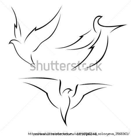 stock-vector-illustration-of-a-bird-in-flight-isolated-on-white-101806240 (450x470, 46Kb)