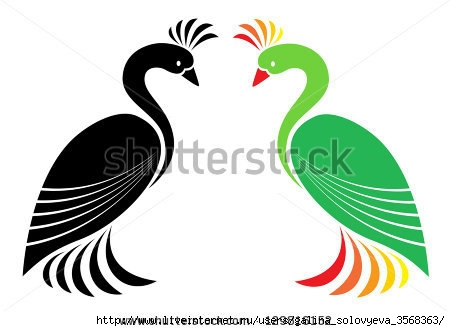 stock-vector-vector-image-of-peacock-on-a-white-background-129816152 (450x331, 63Kb)