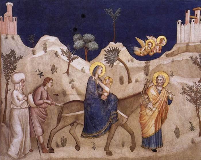 Фрески La Basilica di San Francesco d'Assisi.
