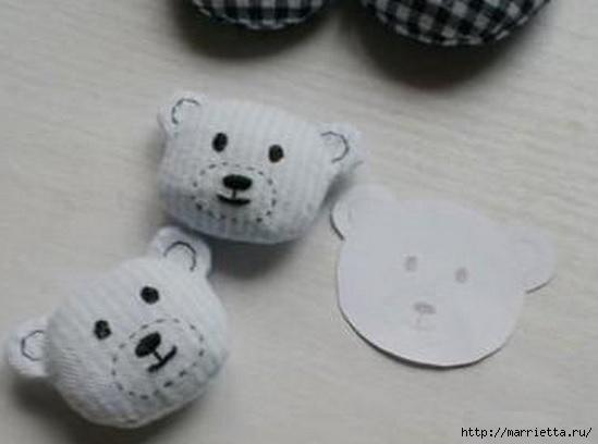 Тапочки с мишками для малыша. Шьем сами (11) (549x408, 75Kb)