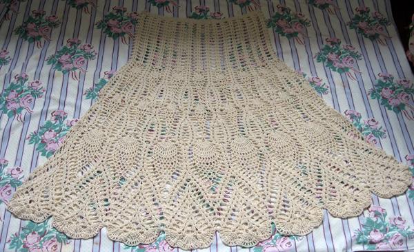 【转载】钩织裙子 - 荷塘秀色 - 茶之韵