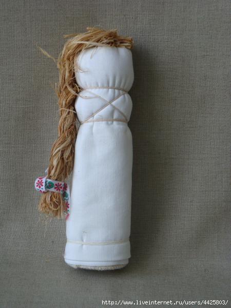 набивная кукла-мешочек