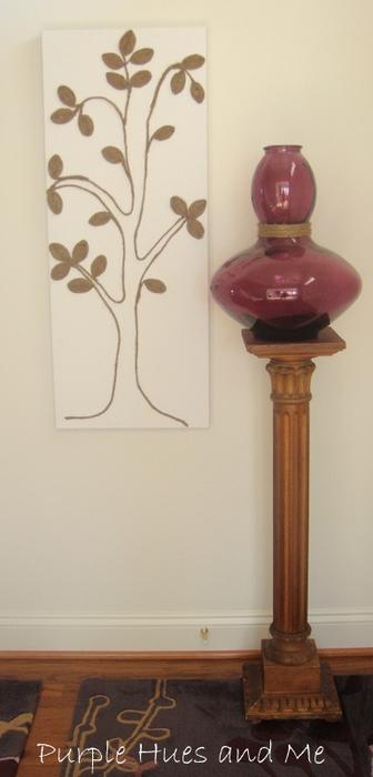 Джутовое дерево. Панно для украшения интерьера (12) (336x700, 137Kb)