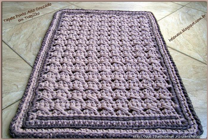 Ютуб мастер класс вязание ковриков с фото #1