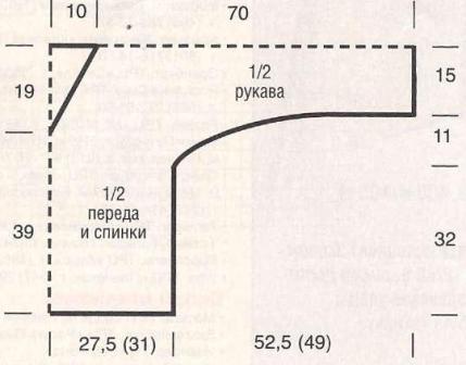 Pulover-s-obemnymi-uzorami-svyazannyj-spicami.Vykrojka (429x336, 73Kb)
