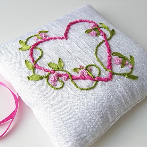 Вышивки ленточками своими руками