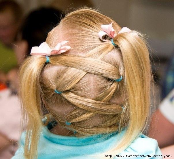 Картинки детских причёсок