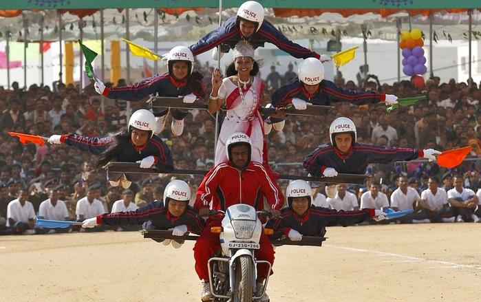 Военный парад в честь Дня республики Индии в Нью-Дели