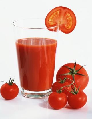 Пью литрами томатный сок
