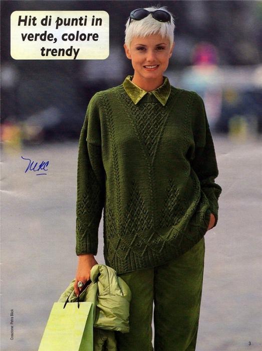 Оливковый-пуловер (523x700, 271Kb)