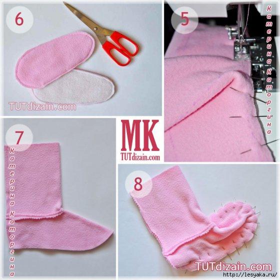 Как самому сделать носки 82
