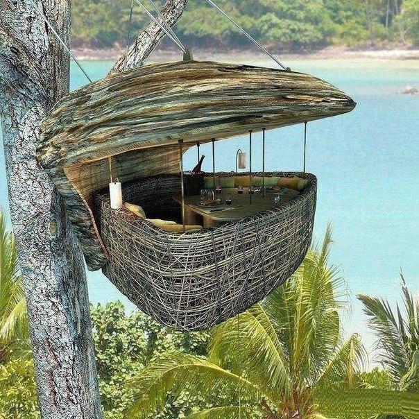 1-Ресторан на дереве. остров Ко Куд в Таиланде (604x604, 166Kb)