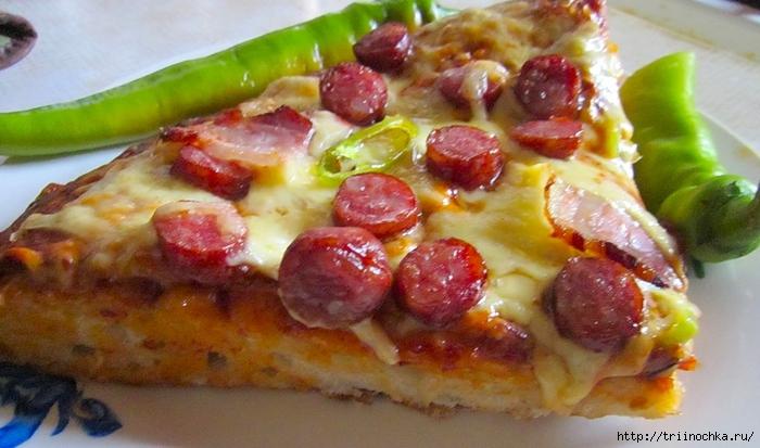 Супер-ленивая пицца на лаваше!