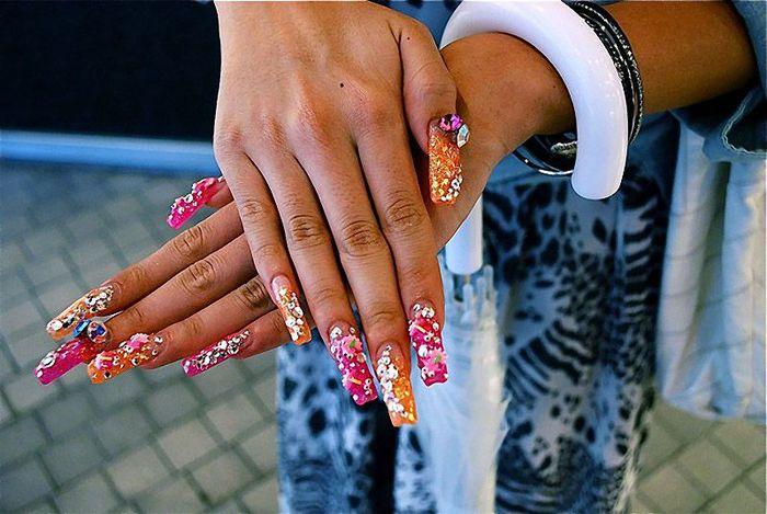 Самые красивые ногти в мире 2017
