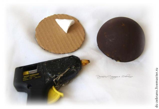 Ароматные ежики из кофейных зерен. Мастер-класс (6) (635x436, 72Kb)