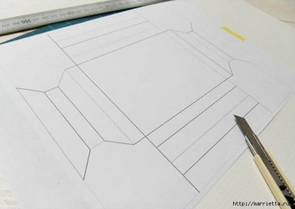 Рамка из бумаги для фото своими руками