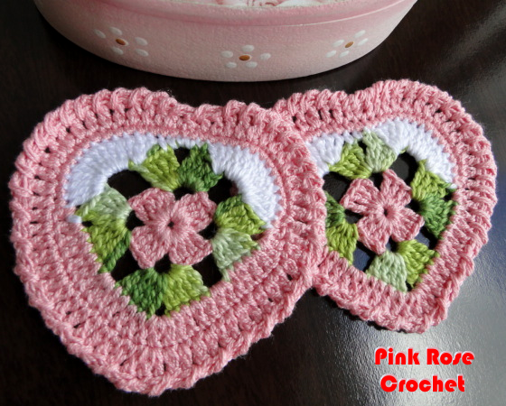 Сердечно-цветочные салфетки-валентинки крючком. Схема (2) (560x450, 607Kb)