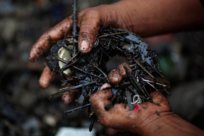 мусорная свалка в гватемале фото 11 (700x466, 308Kb)