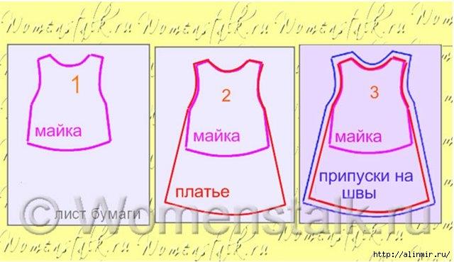 выкройка платья для девочки4 (640x370, 132Kb)