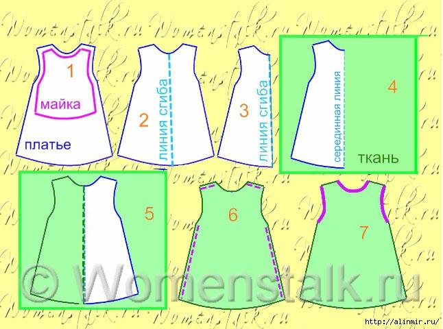 выкройка платья для девочки6 (646x480, 198Kb)