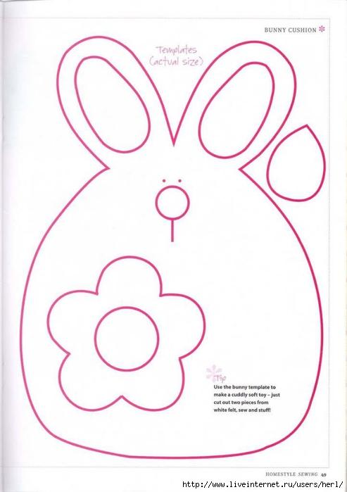поделки из фетра своими руками схемы шаблоны для детей - Самоделкины