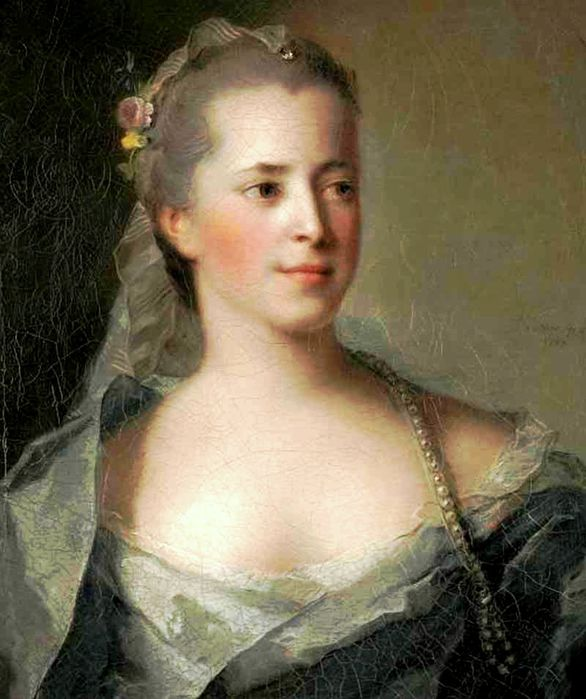 Jean-Marc Nattier1685-1766.Портрет княгини Екатерины Дмитриевны Голицыной (586x700, 63Kb)