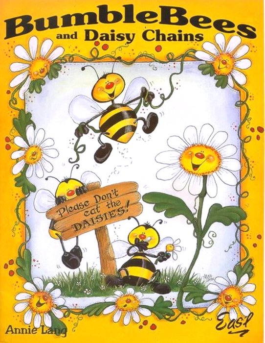 Bumble bees and Daisy Chains (542x700, 106Kb)