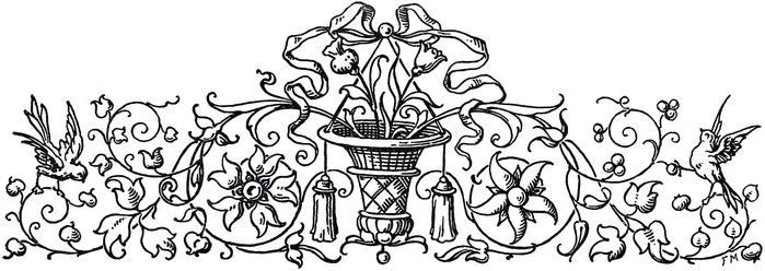 Винтажные изображения для творчества. Орнамент (19) (700x248, 119Kb)