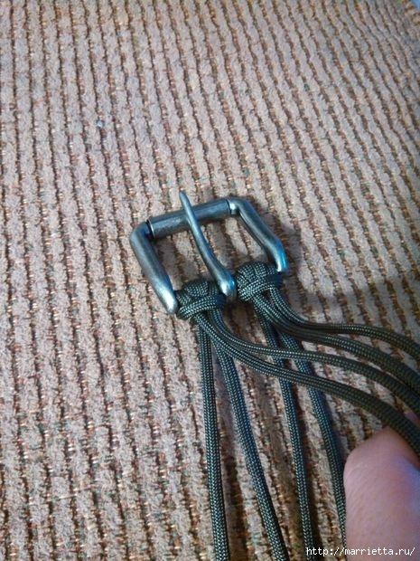 Как сплести ремень для брюк в технике макраме. Мастер-класс (33) (465x620, 236Kb)