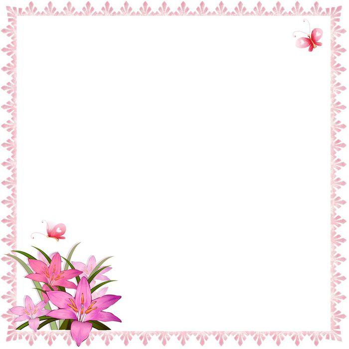 Красивый лист для открытки 698
