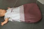 Как сшить спальный мешок. .  Выкройка спального мешка для новорожденного. .