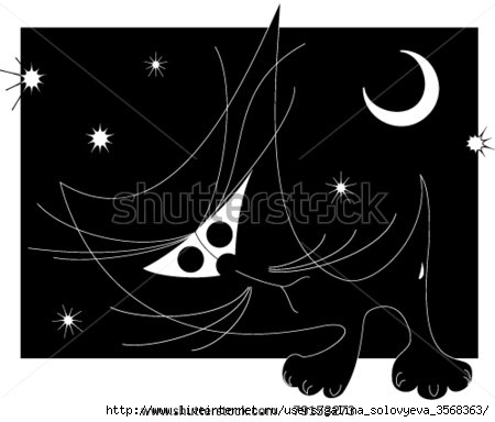 cstock-vector-black-kitten-on-a-black-background-79153273 (450x384, 62Kb)