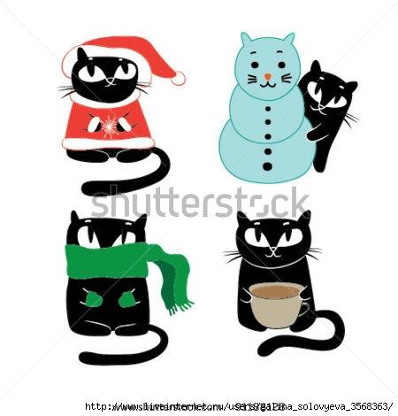 stock-vector-funny-cats-vector-illustration-91188128 (450x470, 79Kb)
