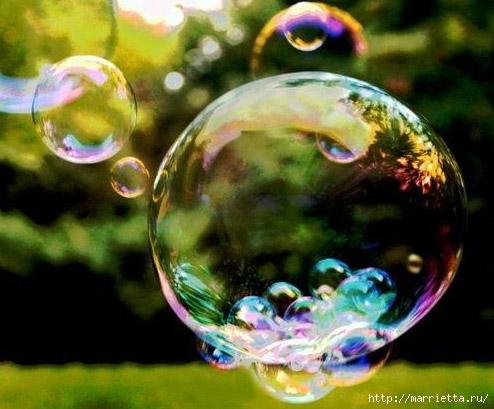 как сделать большие мыльные пузыри (494x409, 133Kb)