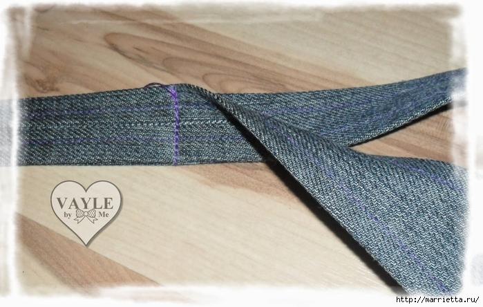 Как сшить жилет из старых джинсов (27) (700x444, 242Kb)
