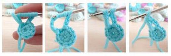 Цветочки крючком для вязания сидушки или коврика (7) (545x181, 224Kb)